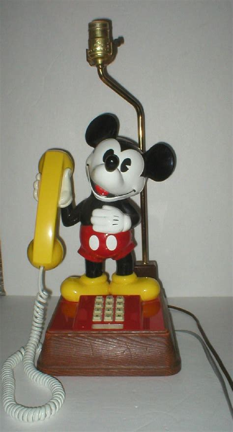 items similar to mickey mouse telephone l combination