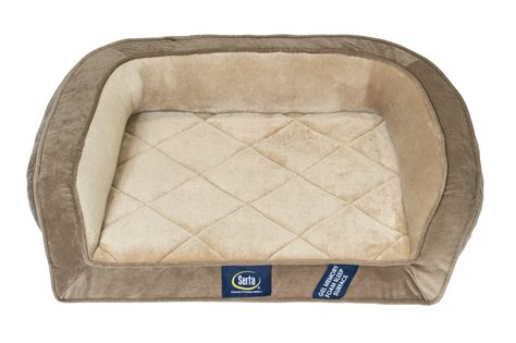 dog bed pet couch gel memory foam orthopedic quilted