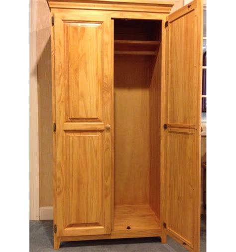 armoire with hanging rod 36 inch afc wardrobe with hanging rod simply woods
