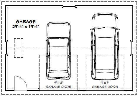 2 car garage dimensions car garage car garage pdf floor plan winchester virginia
