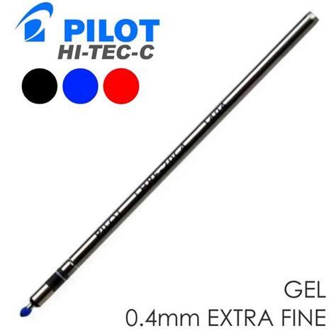 Pilot Pen Refill Hi Tec C 0 4 Mm Blue 1 Pc pilot 174 hi tec c slims gel refill ink cartridge 0 4mm
