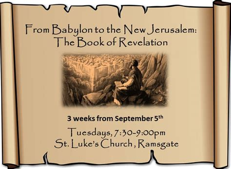 the new revelation books sermons st luke s ramsgate