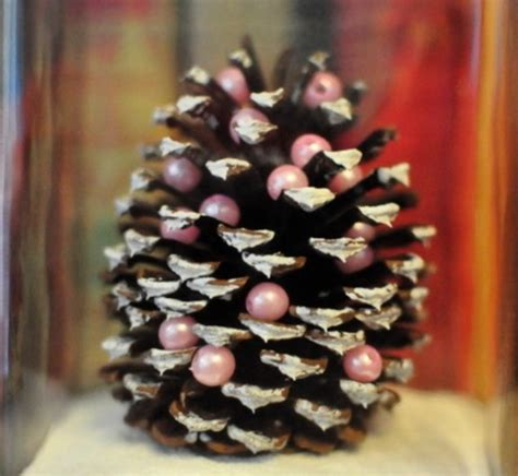 pine cone tree craft project 11 best photos of diy pine cone ornaments diy