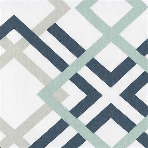 geometric pattern fabric navy and gray geometric fabric by the yard navy fabric