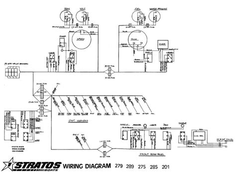 nautic boat wiring diagram wiring diagram with