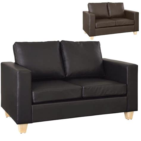 Modern Faux Leather Sofa 20 Best Ideas Black 2 Seater Sofas Sofa Ideas