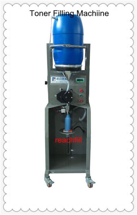 Vacuum Toner vacuum filling machine for toner powder buy toner powder