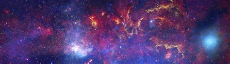 colorful universe display space colorful universe galaxy