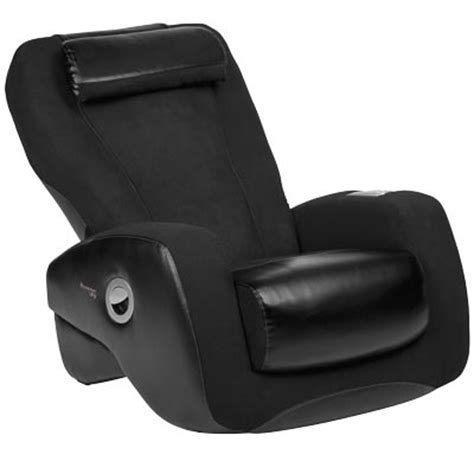 ijoy 2400 black human touch robotic chair recliner