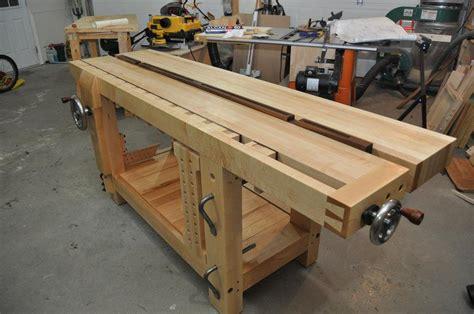 benchcrafted split top roubo  jasondain  lumberjockscom woodworking community workshop