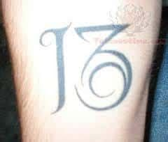 tattoo meaning number 13 number 13 tattoo meaning www pixshark com images