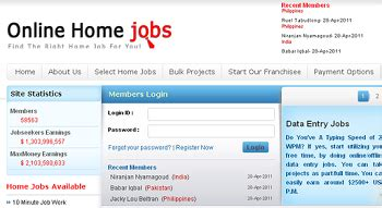 Work From Home Online Jobs Frauds - onlinehomejobs com scam work from home watchdog