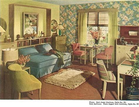 1940 home decor 1940s decor 32 pages of designs and ideas from 1944