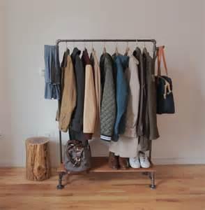 diy vintage looking coat rack shelterness
