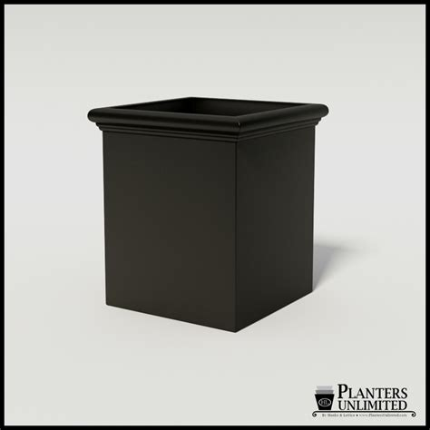 Commercial Fiberglass Planters by Tuscana Fiberglass Commercial Planter 42in L X 42in W X 48in H