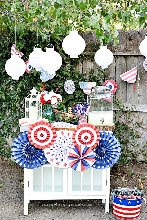 Decorating Ideas For July 4th Fourth Of July Decorating Ideas A Pumpkin And A