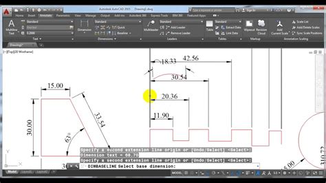 autocad tutorial hindi tutorial 21 how to use and modify dimensions in autocad