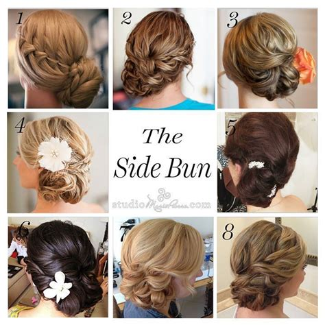 Wedding Hair Buns Images by Wedding Hairstyles Low Side Bun Images Wedding Hair