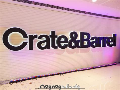 crate barrell fiscal report 2014 crate barrel opens at sm mega mall mega fashion hall