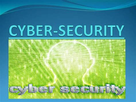 Cyber Crime And Cyber Security Authorstream Cyber Security Presentation Free