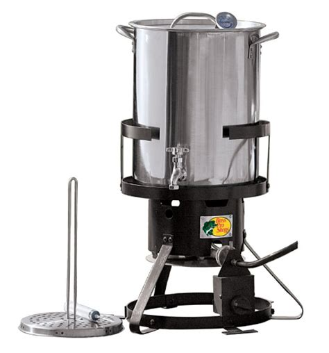 backyard pro turkey fryer 79 97 was 119 99 stainless steel turkey fryer with