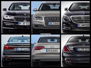 photo comparison 2016 bmw 7 series vs mercedes s class