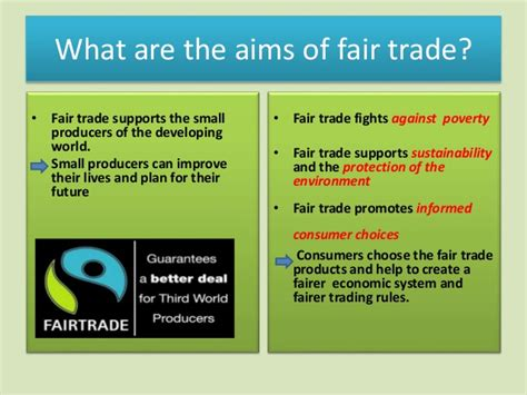 what are trade what is fair trade
