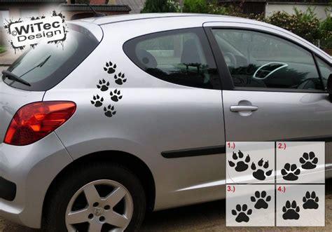 Autoaufkleber Hundepfoten by Autoaufkleber Pfoten Hundepfoten Aufkleber Sticker