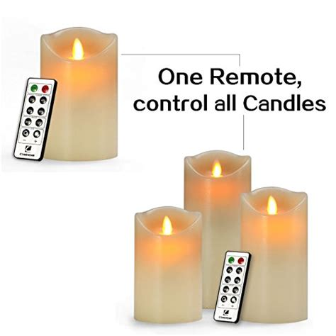 Battery Candles by Flameless Candle Battery Operated Candle 7 Inch Candle