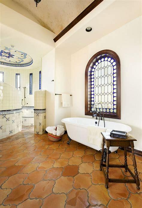 25 marvelous terracotta floor bathroom ideas for best