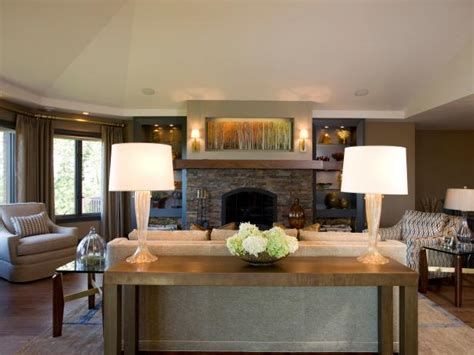 Neutral Living Room With Fireplace Photo Page Hgtv