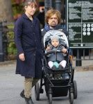 game of thrones child actor breastfeeding peter dinklage strolls with family celeb baby laundry