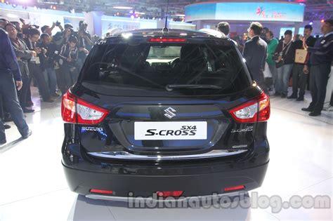 Ktm Auto Expo 2014 by Auto Expo 2014 Maruti S Cross Rear Indian Autos Blog