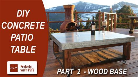 how to make a concrete farmhouse dining how to make a rustic diy
