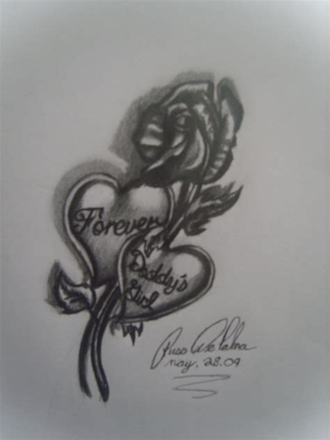 tattoo ideas girl daddys designs