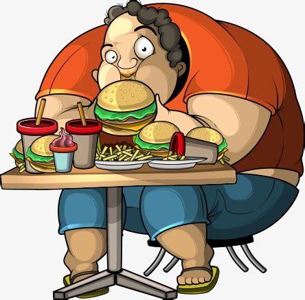 imagenes animadas obesidad la obesidad personajes de dibujos animados ilustraci 243 n