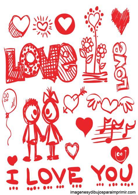 imagenes grandes de i love you dibujos de amor para imprimir