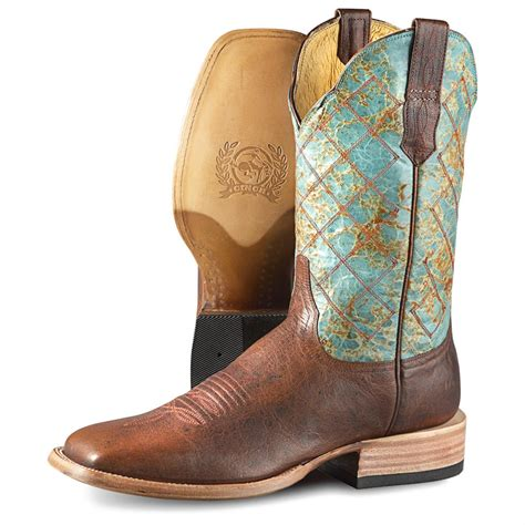 cinch boots mens s cinch classic renegade cowboy boots brown