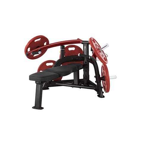 leverage bench steelflex plbp100 leverage bench press machine
