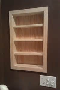 recessed shelves in bathroom jim hewitt s carpentry page recessed shelves in san