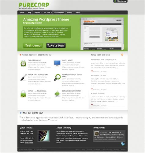 Wordpress Themes Free Themeforest | free download premium wordpress themes purecorp