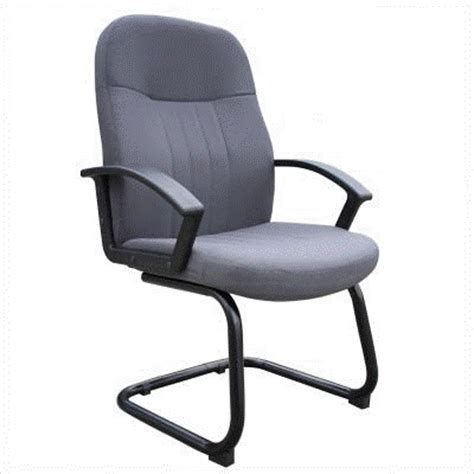 Bobs Furniture Chairs by Bobs Furniture Commercial Fabric Guest Chair Grey