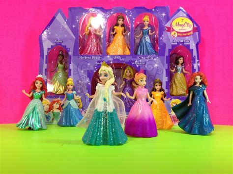 Wedding Magic Clip Dolls by Princess Magiclip Collection Princess Doll Collection Toys