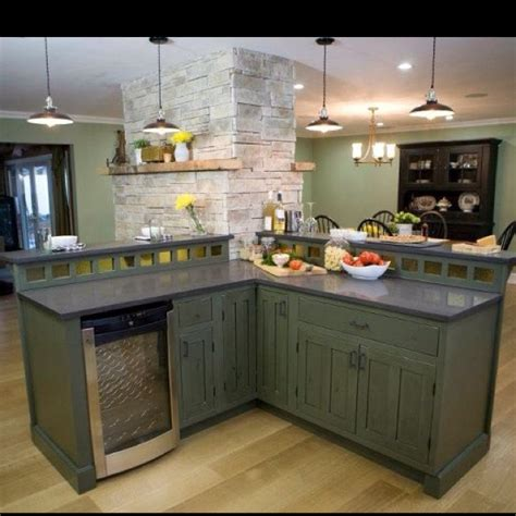 rustic green kitchen cabinets green rustic cabinets river cabin pinterest rustic