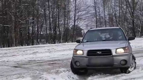 subaru forester snow subaru forester ii 2003 2 0x snow drift youtube