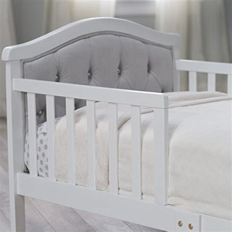 gray toddler bed the orbelle gray padded toddler bed