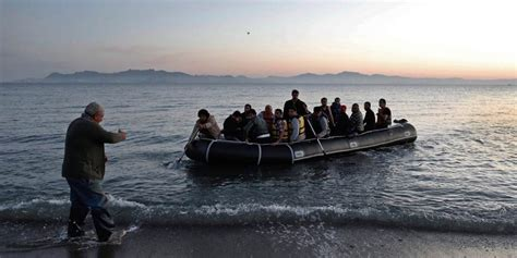 refugee boat cyprus unhcr welcomes relocation of refugees from greece to