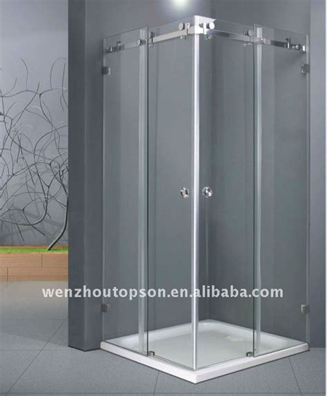 Sliding Door Shower Screens Rectangular Shower Screen With Sliding Door Buy Shower Screen Shower Panel Shower Room Product