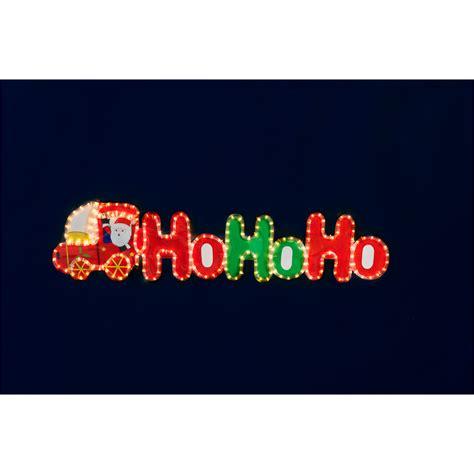 ho ho ho santa train rope light 7m christmas lights