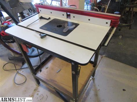 router tables for sale armslist for sale router table